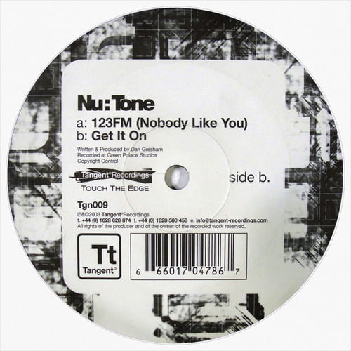 Download Nu:Tone - 123FM (Nobody Like You) / Get It On mp3