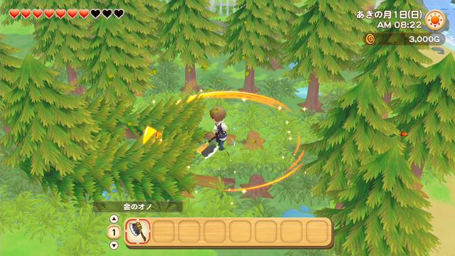 「牧場物語」系列首次在Nintendo SwitchTM平台推出全新製作的作品!  『牧場物語 橄欖鎮與希望的大地』 於今日2月25日(四)發售 030