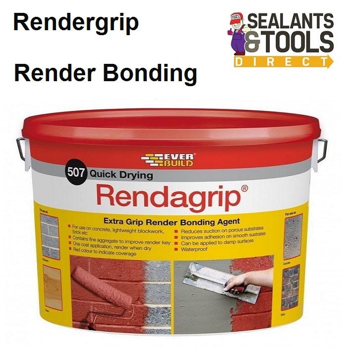 Everbuild 507 Rendagrip Render Bonding Coating RENDGP10
