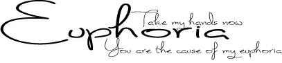 CCS-Euphoria-Word-art