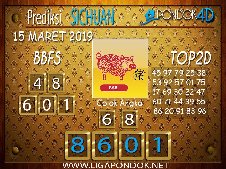 Prediksi Togel  SICHUAN PONDOK4D 15 MARET 2019