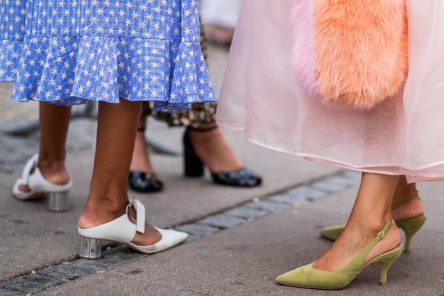slingback-heels-white-green-kitten-flats-pink-dress-SLINGBACKS0319