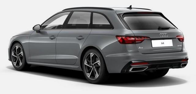 Audi A4 et Audi A5 : une série spéciale S Edition encore plus équipée A4-Avant-arriere