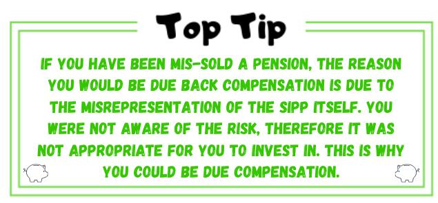 misrepresentation of SIPP image