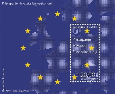 2013. year PRISTUPANJE-HRVATSKE-EUROPSKOJ-UNIJI-BLOK