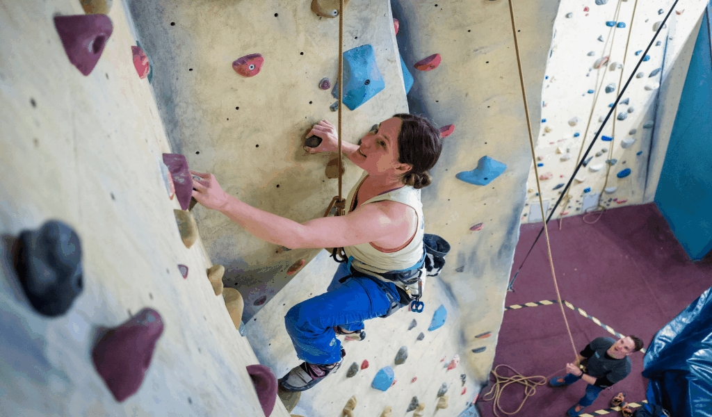 Fry Club Climbing Olympics