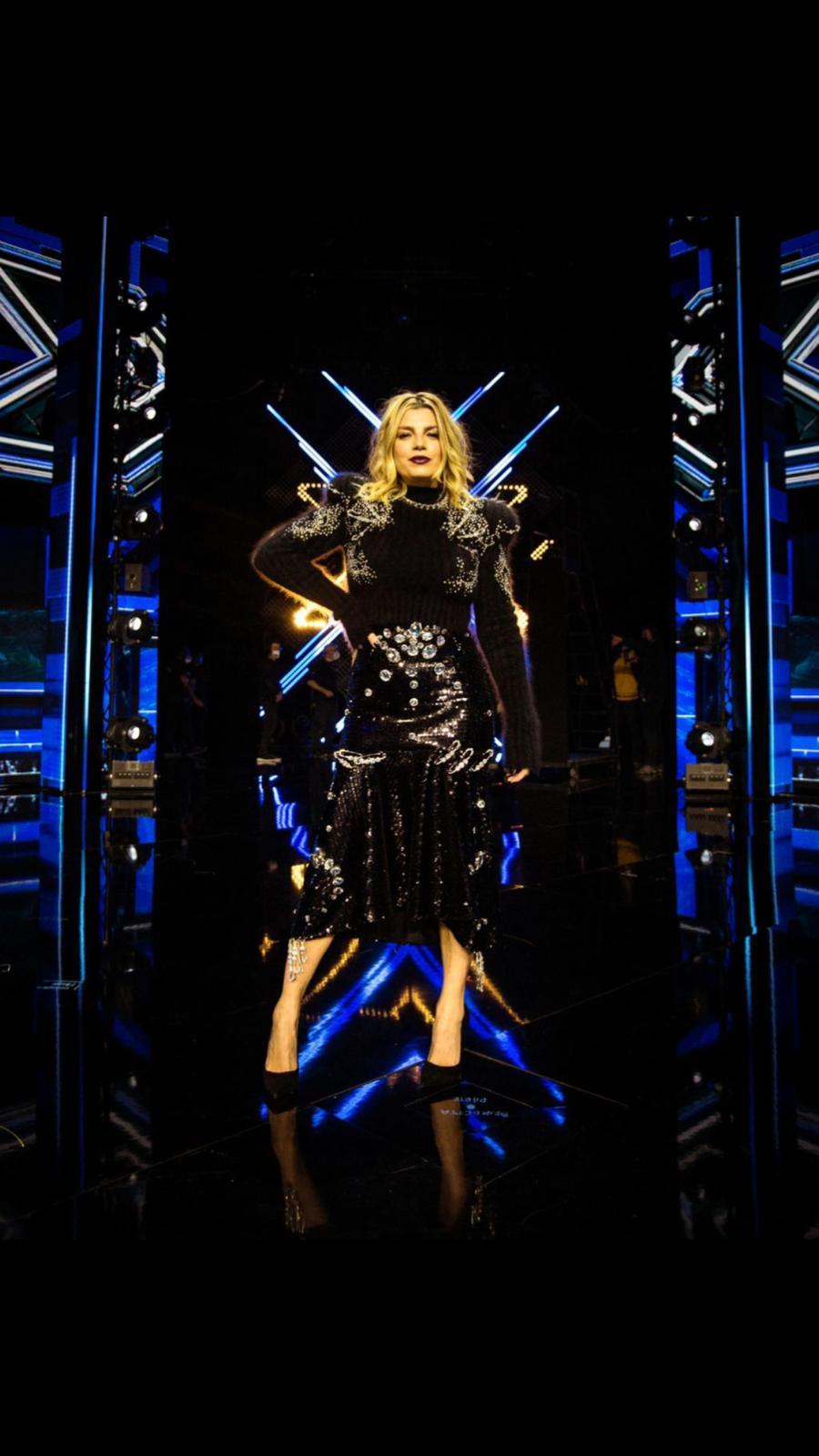 Emma veste Francesco Scognamiglio a X Factor