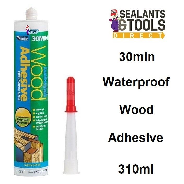 Everbuild Lumberjack Wood Glue 30 Minute Adhesive 310ml 30MINPU3
