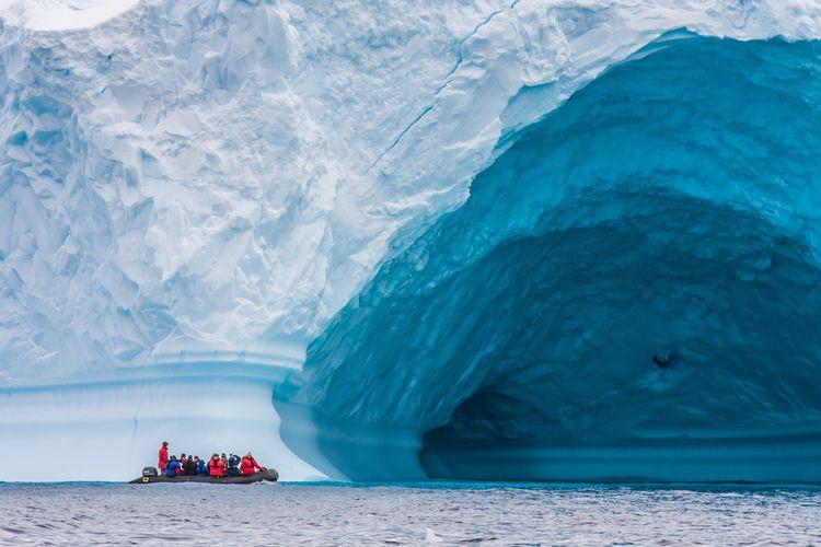 Fenomena Salju Hijau ini Menghijaukan Antartika, Ini Penyebabnya