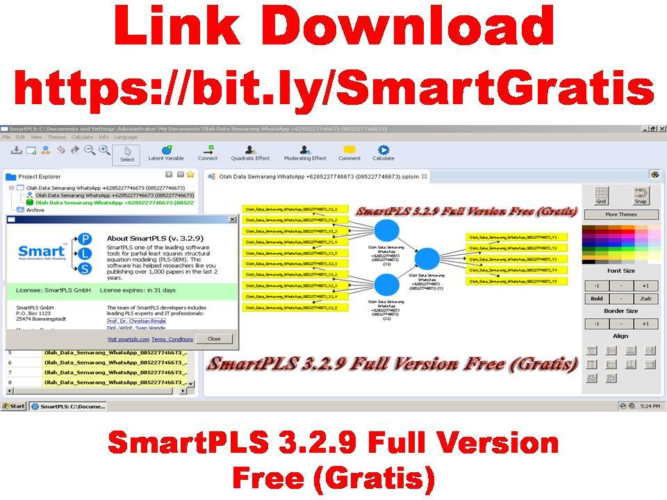 SmartPLS 3.2.9 Full Version Free (Gratis)