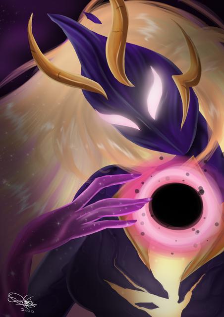 Dark-Cosmic-Luxanna