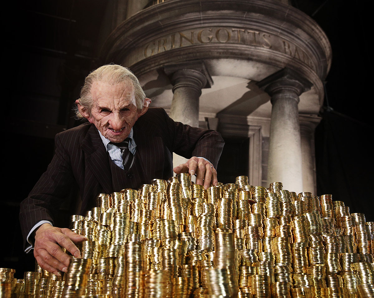 Gringotts Expansion at Harry Potter Warner Bros Studio Tour