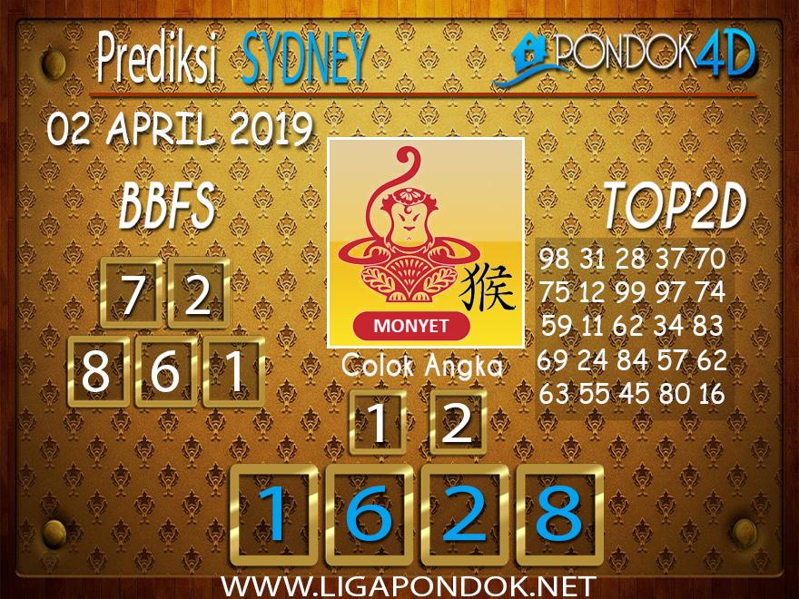 Prediksi Togel SYDNEY PONDOK4D 02 APRIL 2019
