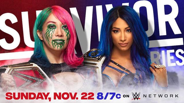 Asuka vs. Sasha Banks Survivor Series