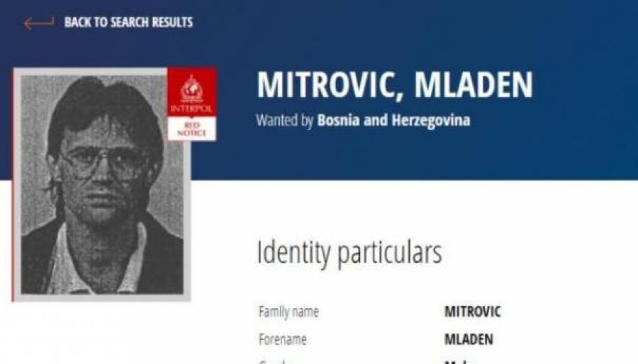"""BIO JE ČUVAR U LOGORU """"TRNOPOLJE"""": Interpol raspisao potjernicu za Mladenom Mitrovićem"""