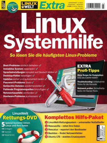 Cover: LinuxWelt Sonderheft No 03 September-November 2021