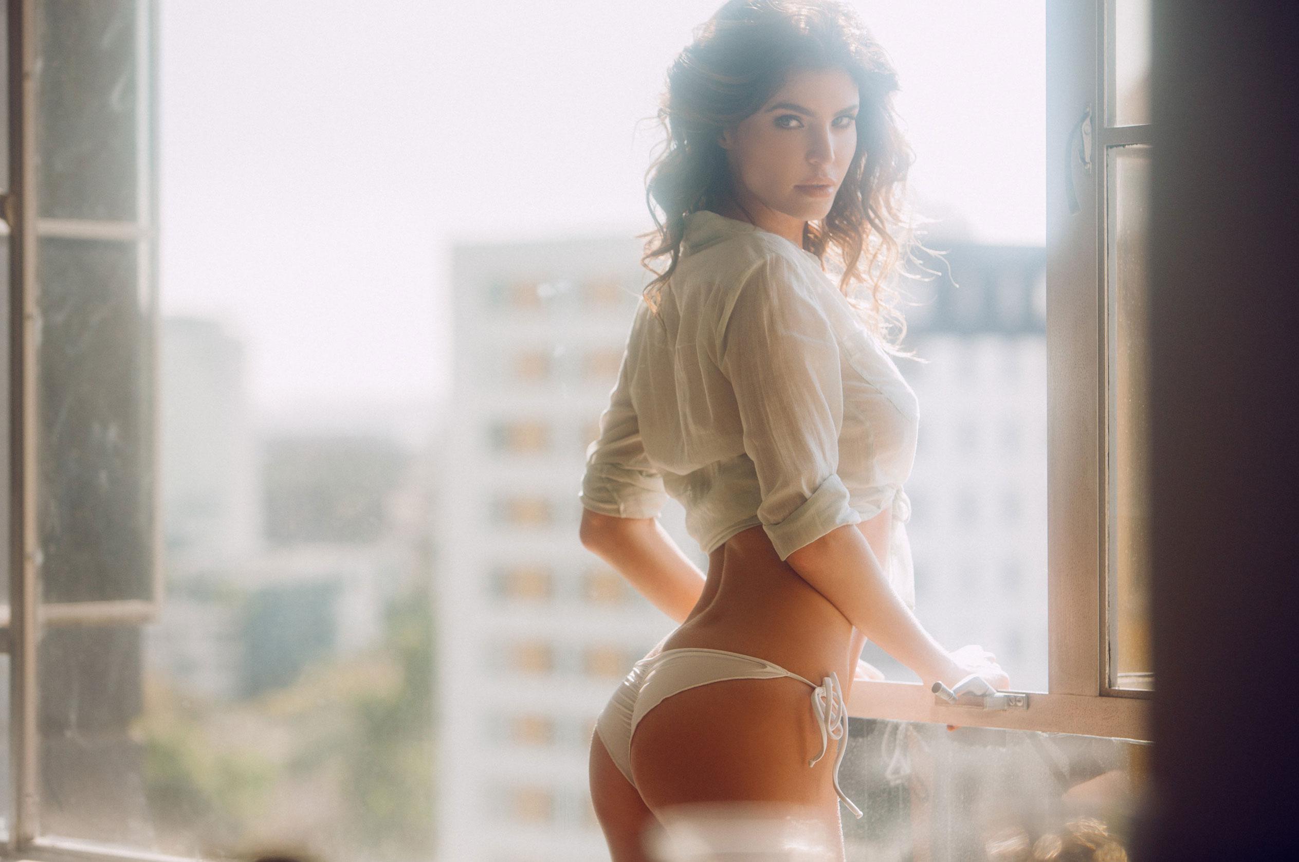 Юлия Лескова в люксовом французском нижнем белье / фото 02