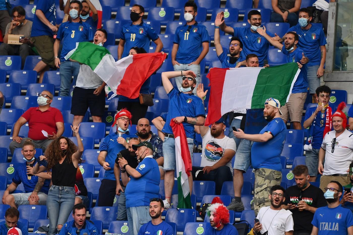 Italia-Inghilterra senza maxischermo all'Olimpico di Roma