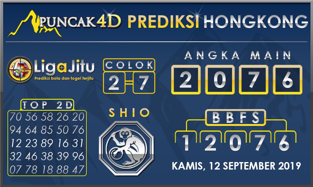 PREDIKSI TOGEL HONGKONG PUNCAK4D 12 SEPTEMBER 2019