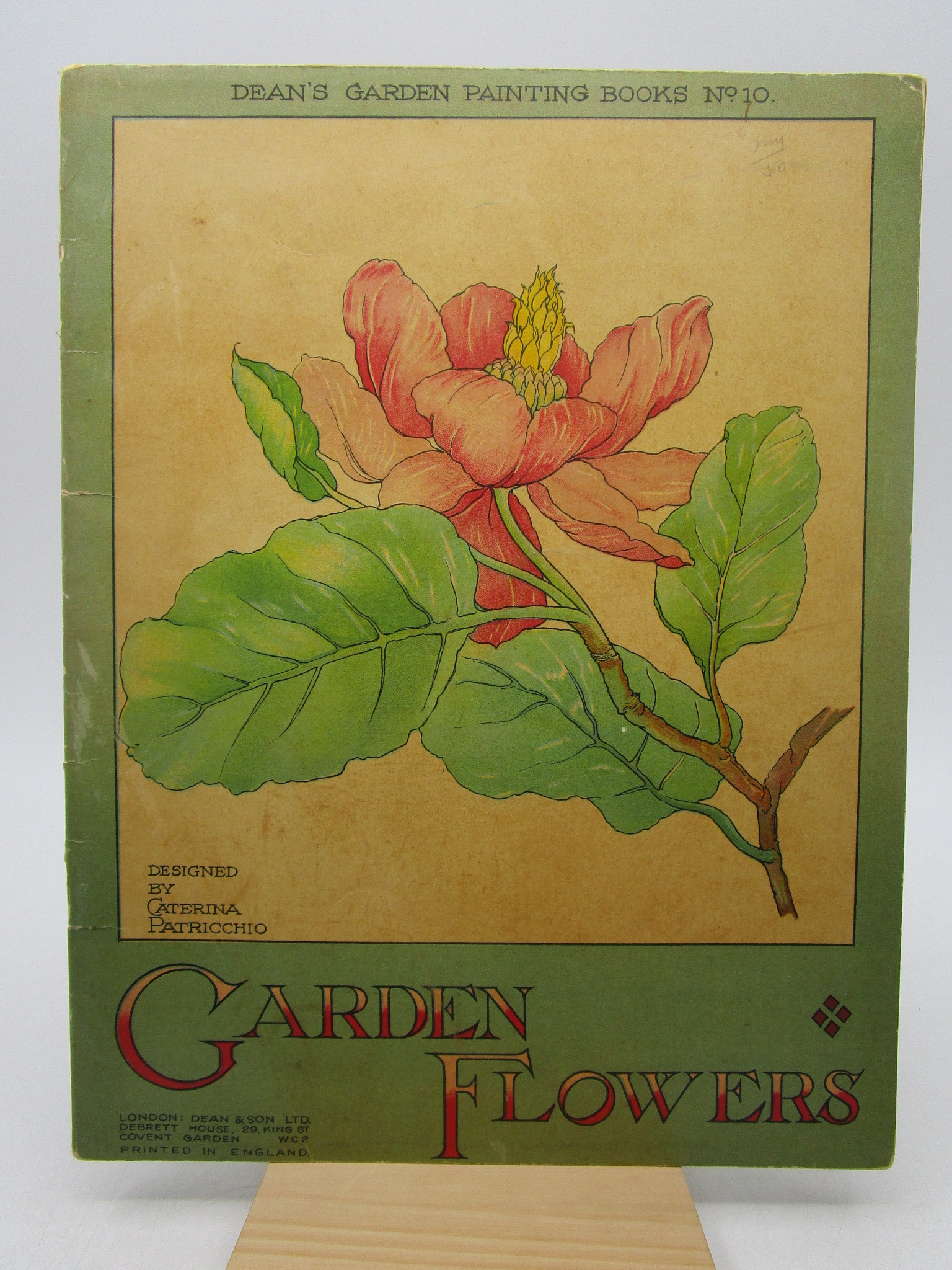Image for Garden Flowers: Dean's Garden Painting Books No. 10 (First Edition)