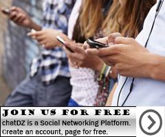 chatDz - social network Plateforme