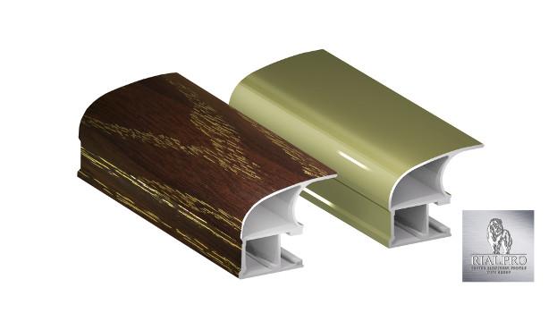 алюминиевый профиль для дверей-купе производства RIAL.PRO