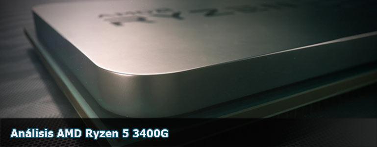 Análisis AMD Ryzen 5 3400G