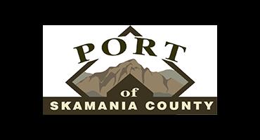 port of skamania logo
