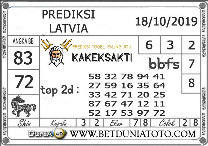 """Prediksi Togel """"LATVIA"""" DUNIA4D 18 OKTOBER 2019"""