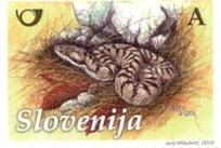 Slovenia stamps ZMIJA-A