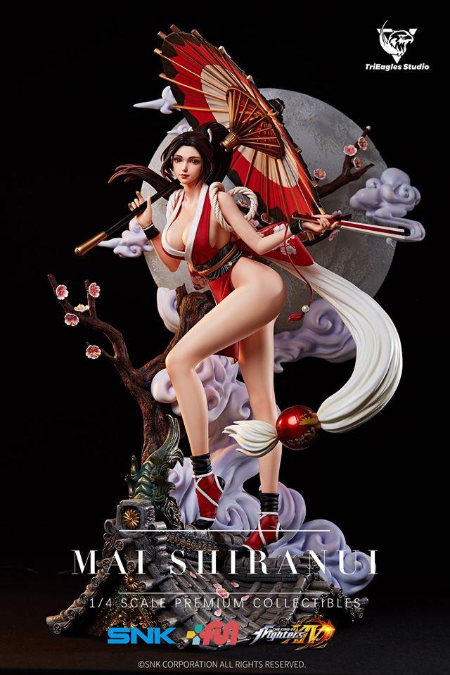 Trieagles Studio King Of Fighters Xiv Mai Shiranui 1 4 Statue
