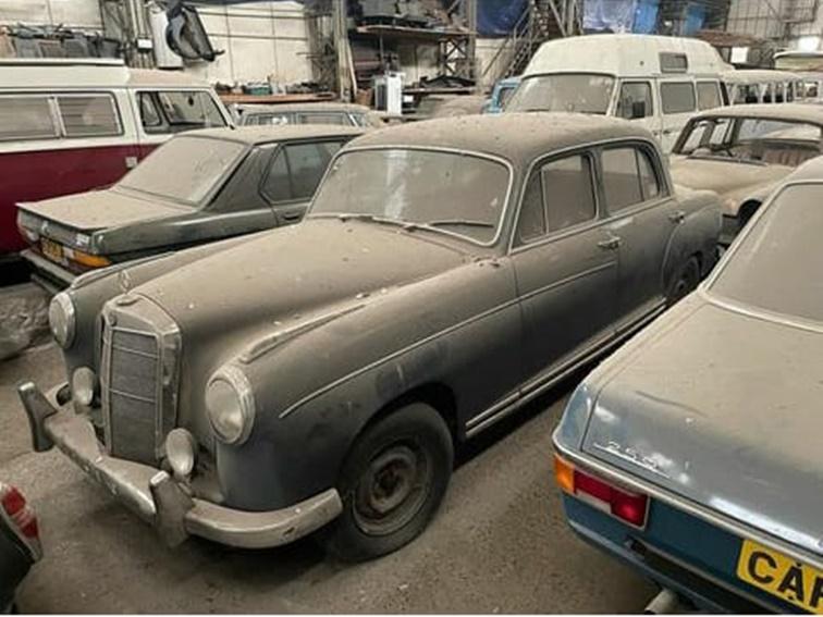 La colección de coches incluye algunos de las marcas de lujo más conocidas del mundo
