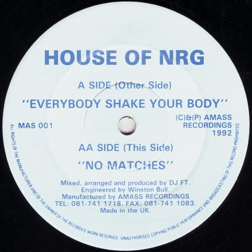 Download House Of NRG - Everybody Shake Your Body / No Matches mp3