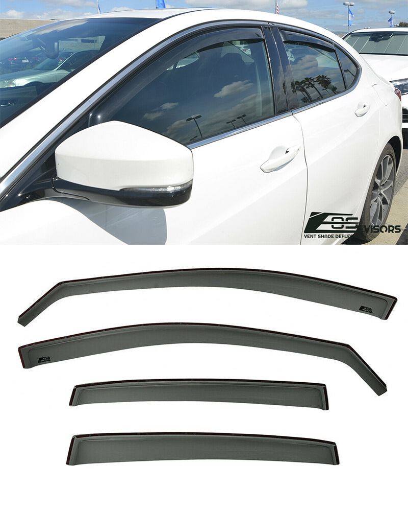 IN-CHANNEL Visors For 15-Up Acura TLX Side Window