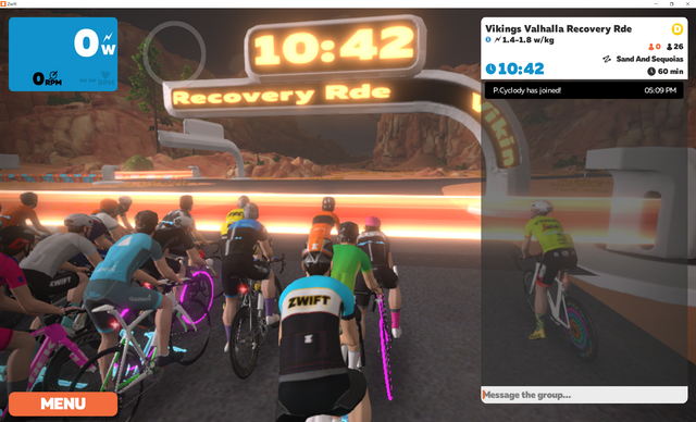 Zwift-Group-Ride-Getting-Ready