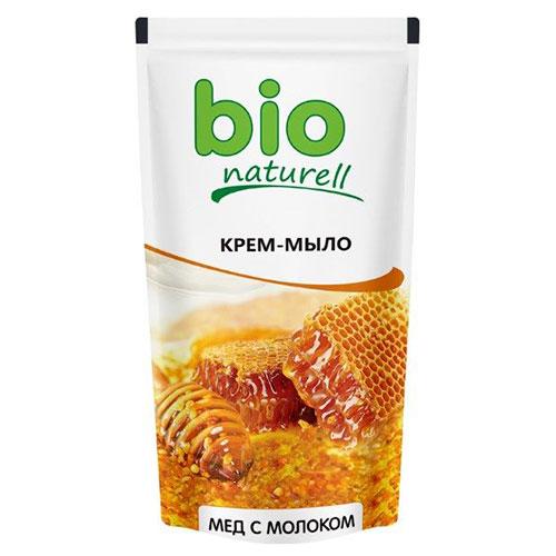 Bio Naturrel თხევადი საპონი 'თაფლი და რძე' 500 მლ 4820168431470