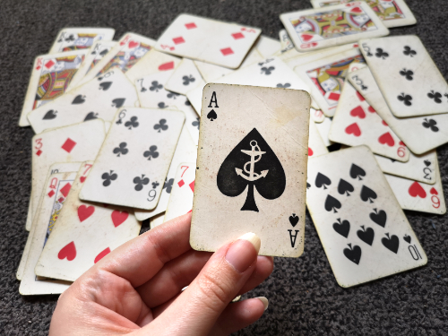The Ace of Spades is also known as the Death Card