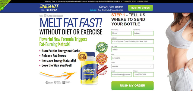 Do you want to burn fat and see real weight loss results? And, do you want your body to change in a few months instead of a few years? So, you must try keto. With this formula, you will effortlessly enter ketosis. As a result, your body will burn its own fat stores to give you energy. And, the more you use it, the greater your results. So, tap on any image on this page to visit One Shot Keto Diet Pills Official Website. There, you can place your order if this popular formula is still available. If not, you will find another best-selling offer instead so that you can still get the ketogenic results that we describe in this review. Go change your life now!  Official Website: http://oneshotketo.shop/  #OneShotKeto #OneShotKeto #OneShotKetoReview #OneShotKetoSharkTank #OneShotKetoIngredients #OneShotKetoPrice #OneShotKetoBenefits #OneShotKetoWork #HowOneShotKetowork #OneShotKetoBuy #CostofOneShotKeto #WhereTobuyOneShotKeto