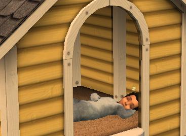 asleep-in-a-doghouse