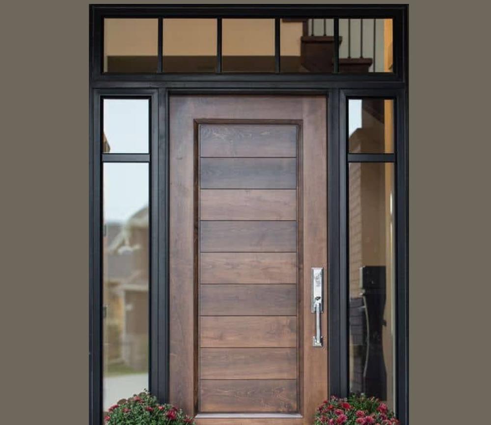 Desain Pintu dengan Tema Rustic