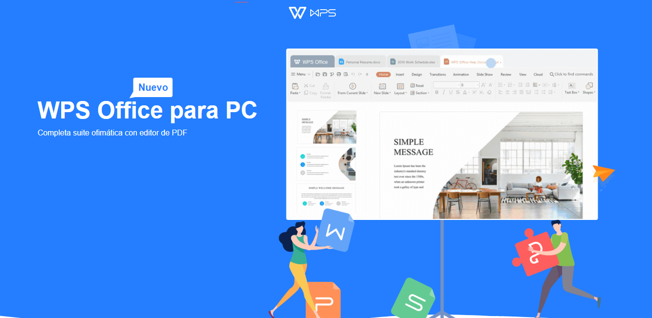 Así se ve WPS Office
