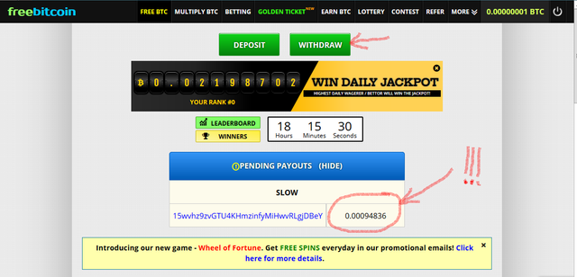 Bitcoin-prize