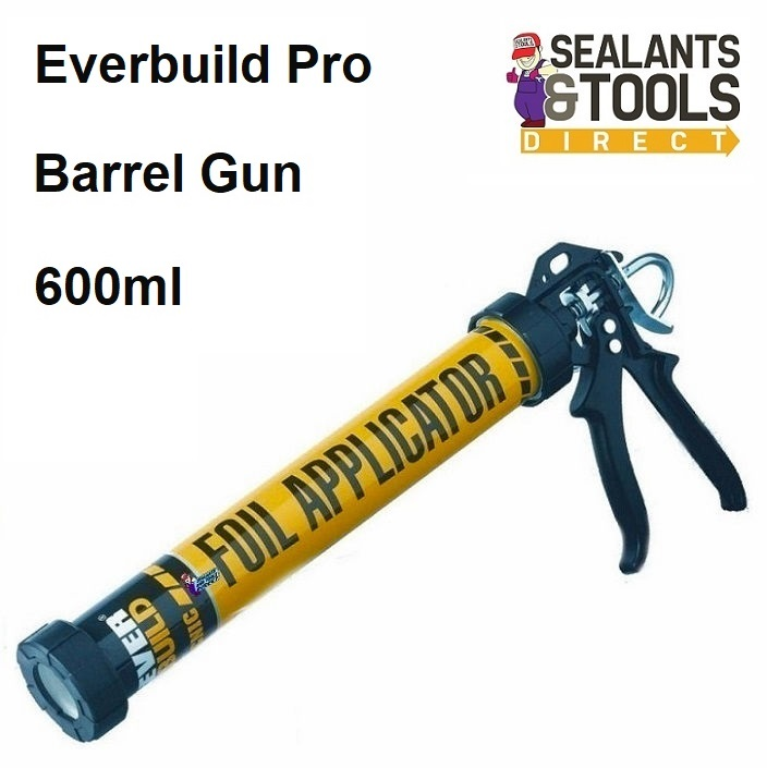 Everbuild Tecnic Combi Barrel Sausage Foil Pack Sealant Gun 600ml