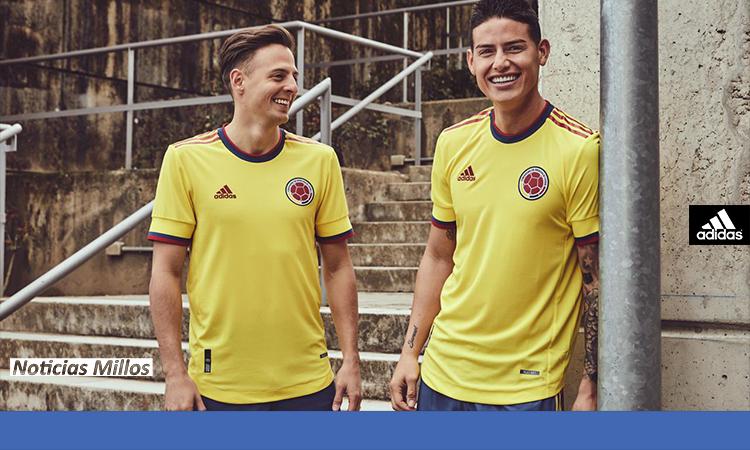 Camiseta Colombia 2022