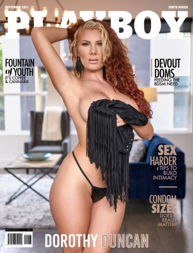 Cover: Playboy South Africa - September 2021