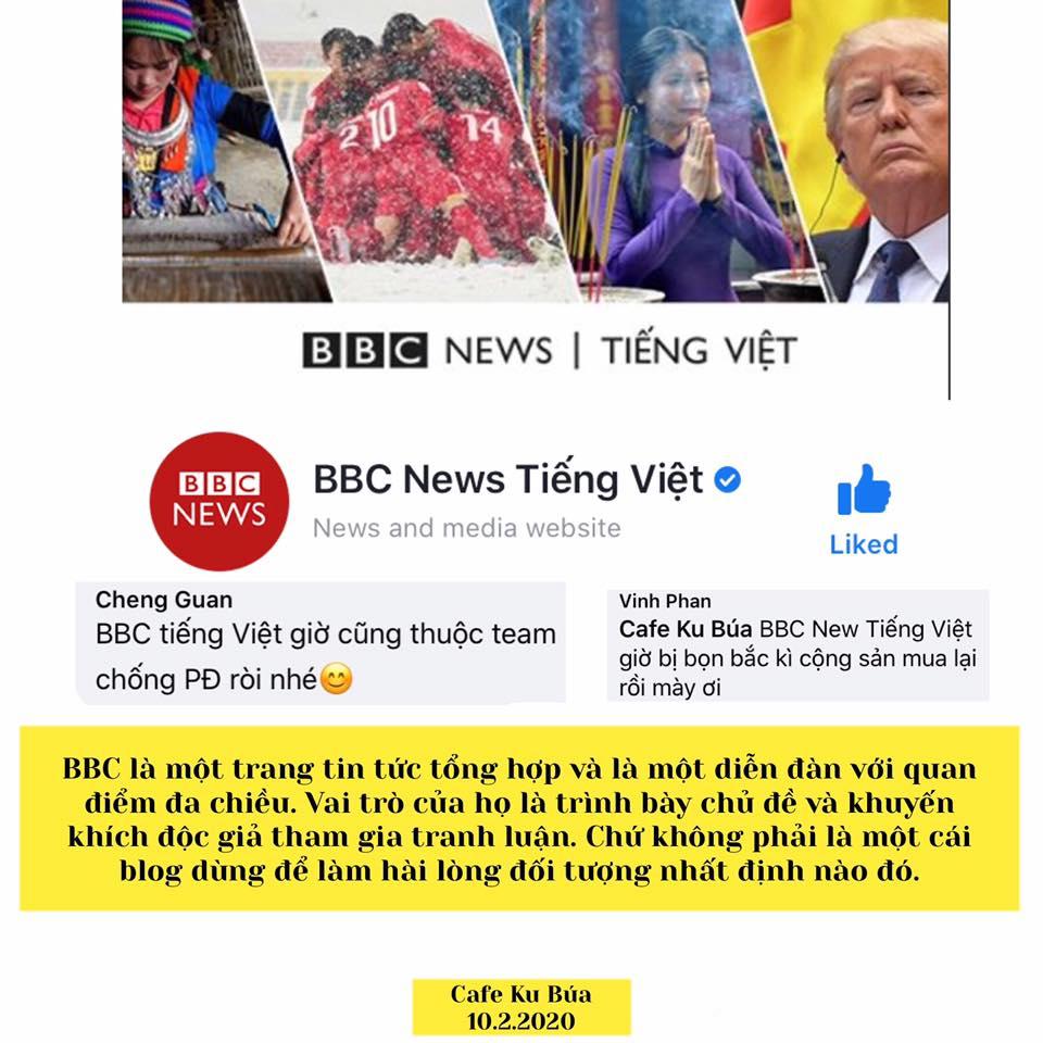 BBC TIẾNG VIỆT BỊ MUA CHUỘC – NGHỆ THUẬT TIN TỨC VS Ý KIẾN