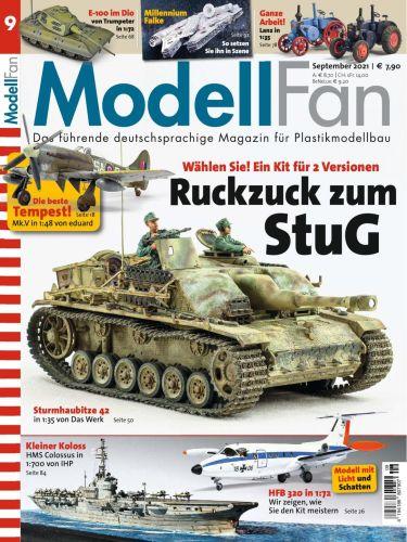 Cover: Modellfan Modellbaumagazin No 09 September 2021