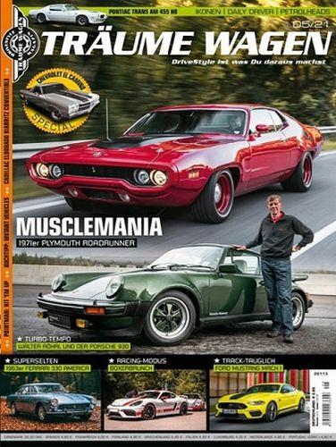 Cover: Träume Wagen Drivestyle Magazin No 05 2021