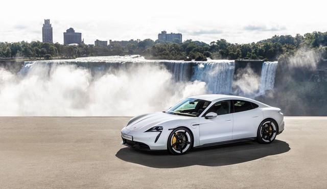 Porsche fête ses 70 ans en Amérique World-premiere-of-the-new-Porsche-Taycan-in-North-America-2019