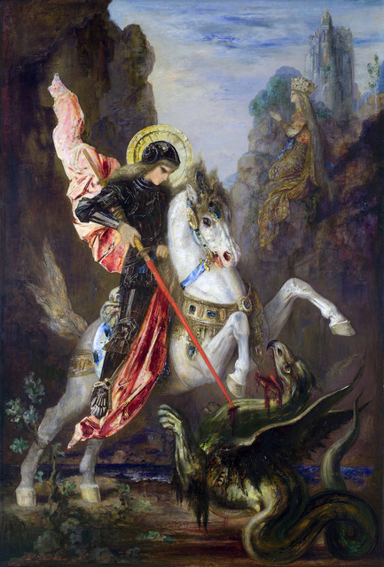 Full-title-Saint-George-and-the-Dragon-Artist-Gustave-Moreau-Date-made-1889-90-Source-http-www-natio